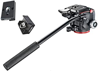 Best Manfrotto XPRO Fluid Head with Fluidity Selector Plus Two Bonus IVATION Replacement Quick Release Plates for The RC2 Rapid Connect Adapter Review