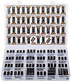 Big CMOS Logic 4000 4500 IC Series Assortment Box 46 Types, 120 pcs, CD4001 CD4011 CD4017 CD4022 CD4027 CD4047 CD4049UBE CD4060 CD4071 CD4081 CD4503 CD4543 CD4553 etc.