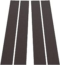 Ferreus Industries Carbon Fiber Pillar Post Trim Cover fits: 2009-2014 Dodge Ram 4 Door Model PIL-118-CF
