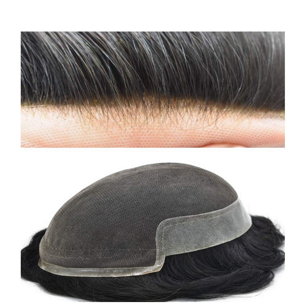 SINGA New Ranking TOP3 Free Shipping HAIR Human Hair System Mens Lace Natur Toupee Front French