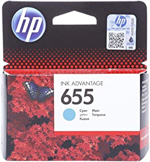 HP 655 Cyan Original Ink Advantage Cartridge - CZ110A