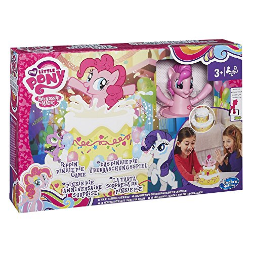 Hasbro Spiele B2222EU4 - Das Pinkie Pie Überrraschungsspiel, Kinderspiel