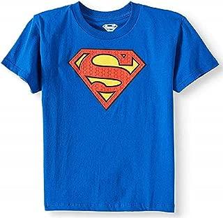 Hybrid Promotions Superman Boys' Embossed Logo Tee