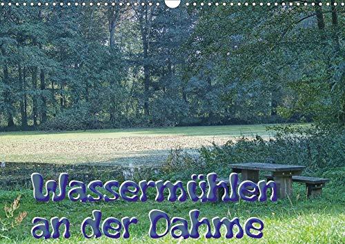 Wassermühlen an der Dahme (Wandkalender 2020 DIN A3 quer): Die Dahme, da wo sie noch ganz klein ist und die Reste der einst 15 stolzen Mühlen. Ein ... (Monatskalender, 14 Seiten ) (CALVENDO Natur)