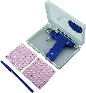 Anytec Professional Piercing Gun Portable Body Ring Piercing Gun Piercing Gun Kit with 84 Studs for Piercing Ears Nose Lips Navel