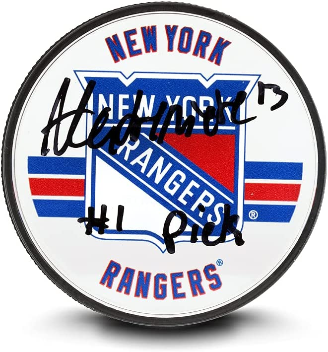 Upper Deck Alexis Be super welcome LAFRENIÈRE INSCRIBED York Now free shipping Acrylic New Rangers