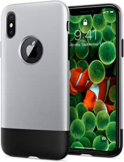 Spigen Protector Cover For Iphone X- 057Cs23345, Multi Color