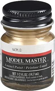 GOLD 1/2 oz Enamel Paint Bottle