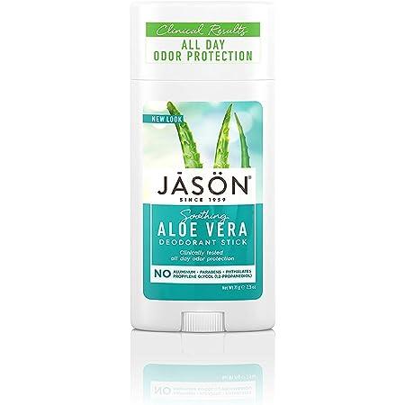 Jason Aluminum Free Deodorant Stick, Soothing Aloe Vera, 2.5 Oz