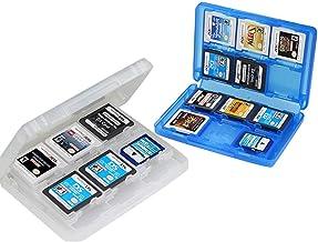 2 Pc Caja de Almacenamiento de Juegos de Nintendo Caja de Almacenamiento de Tarjetas de Juego de Caja Protectora de Plástico 28 en 1 Para los Nuevos NDS, NDSI, NDSILL, 2DS, 3DS, 3DSLL / XL
