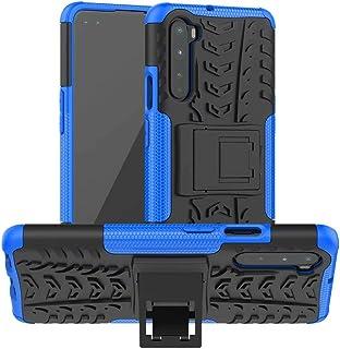 جراب TingYR لهاتف Samsung Galaxy M21 2021، حامل قابل للطي، جراب من البولي يوريثان اللدن بالحرارة / جراب واقٍ هجين بطبقة مز...