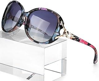 Classic Oversized Sunglasses for Women Polarized 100% UV400 Protection Lenses Ladies Fashion...