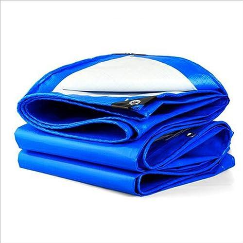 YANG HONG SHOP JL YH Multi-usages Panneau De Bache Imperméable Légère ForteHommest Au Jardin UV étanche en Polyéthylène Bleu Oeillet A+ (Taille   3X 3m)