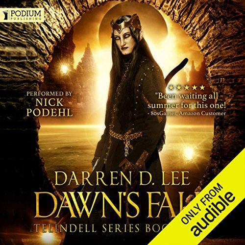 Dawn's Fall audiobook cover art