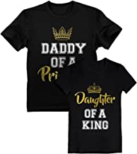 Father & Daughter Matching Set Daddy and Me Outfit Dad & Toddler Girl T-Shirts