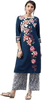Vaamsi Women's A-Line Kurta Polyester