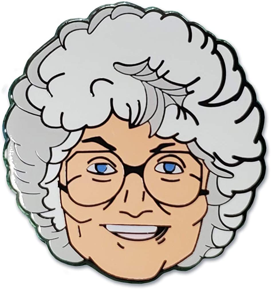 Ata-Boy Oakland Mall Golden Girls Sophia Officially an Licensed Attention brand Keychain Pin