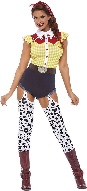 descuento de bajo precio Leg Leg Leg Avenue 8677703101 - Disfraz de Vaquera para Mujer (3 Piezas, Talla L)  ahorra hasta un 30-50% de descuento