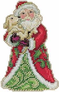 Jim Shore Best Friend Santa Counted Cross Stitch Kit-5x5 18 Count