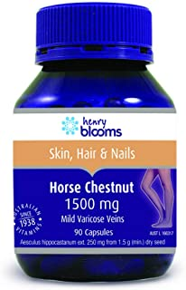 Henry Blooms 1500 mg Horse Chestnut 90 Capsules