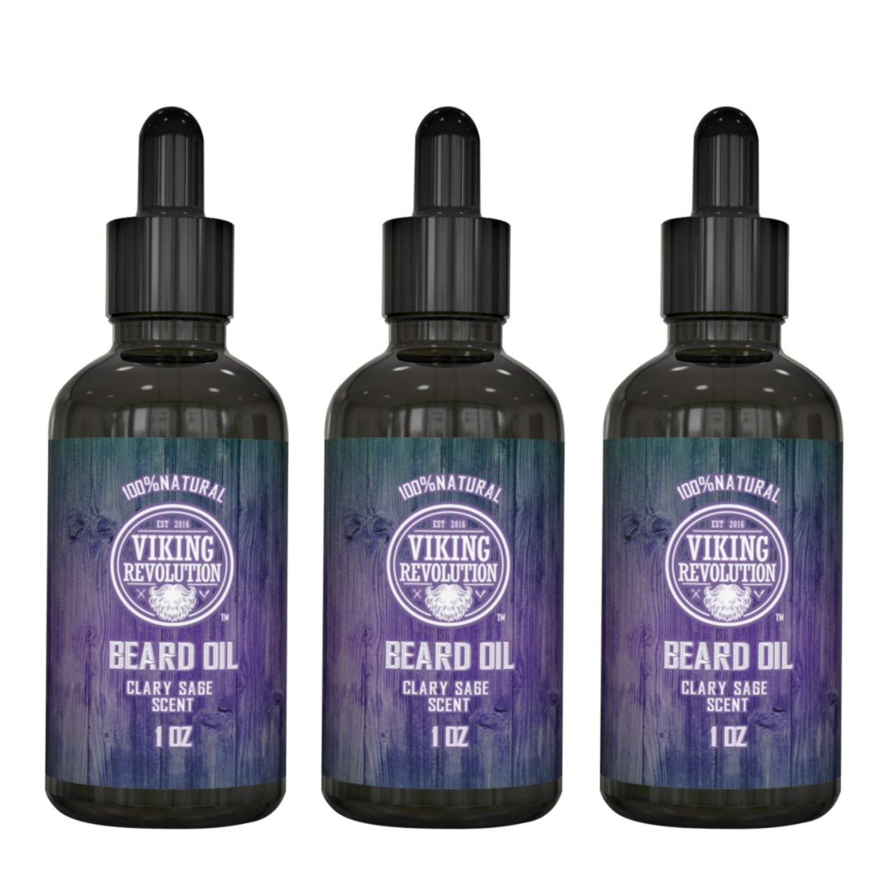 Beard Popularity Manufacturer direct delivery Oil Conditioner - All Natural Clary Argan Sage with Scent