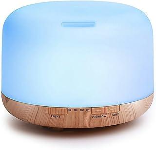 Humidificador Aromaterapia, GLURIZ 500ml Humidificador de Es