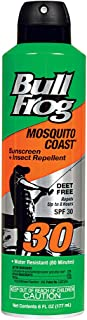 Mosquito Coast Sunscreen + Insect Repellent Continuous Spray SPF 30 6 Ounce