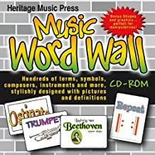 Music Word Wall CD-ROM