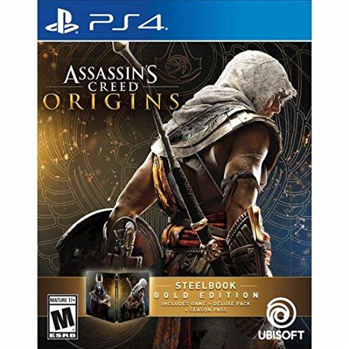 Assassin's Creed Origins Gold SteelBook Edition PlayStation 4 アサシンクリード オリジンズゴールド スティールブック版プレイステーション4北米英語版 [並行輸入品]