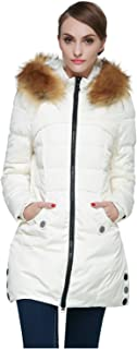 featured product Orolay Women's Down Jacket with Faux Fur Trim Hood