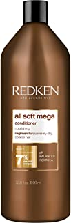 Redken All Soft Mega Conditioner | For Extremely Dry Hair | Nourishes & Softens Severely Dry Hair | With Aloe Vera | 33.8 ...