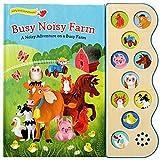Busy Noisy Farm: Interactive Children's Sound Book (10 Button Sound)...