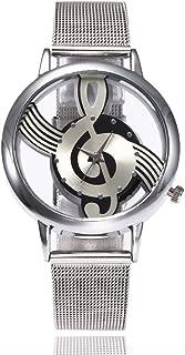 Triskye Womens Analog Quartz Watches Business Casual Luxury Stainless Steel Strap Marble Band Round Wrist Watch Girls Ladies Wristwatch Bracelet for Teen Girls
