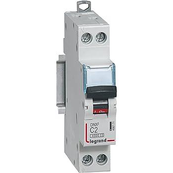 En acier inoxydable poli 45A tall dp interrupteur 240V cuisinière interrupteur par legrand 733220