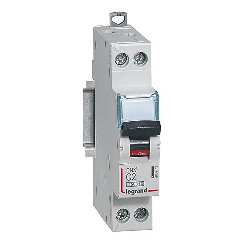 1p Schneider electric a9/F74101/disjoncteur magn/éto-thermique iC60/N courbe C 0,5A blanc 1 blanc 1/A