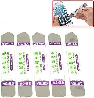 10本組 金属両頭アンチスリップスマッシュのフラットスパッジャー PC/Mac/携帯等修理用ツール Spudger アイフォンIPhone/iPad/iPod/ネットブック/ノートパソコン/ラップトップ/SamsungタブレットPC /Mp3プ...