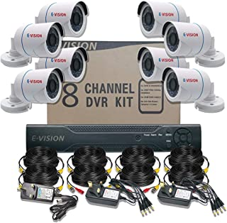 8-CHANNEL 1080P FULL HD CCTV CAMERA SURVEILLANCE KIT 8CH 1080P DVR, 8 OUTDOOR CAMERA & ACCESSORIES FOR INSTALLATION