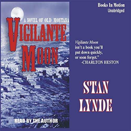 Vigilante Moon audiobook cover art