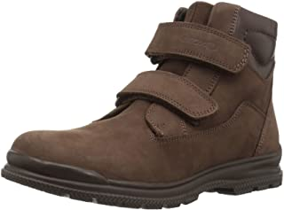 Geox Kids' Navado Boy 1 Insulated Velcro Work Boot Combat