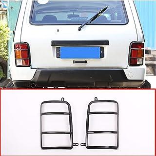 Legierung Auto hinten rücklicht Schutz rahmenverkleidung 2 stück für niva zubehör
