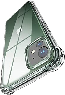 """Amozo iPhone 11 Cases and Covers   Clear Series Transparent Soft Silicon TPU   Air Cushion Shock Proof Cover with Camera Protection for iPhone 11 (6.1"""")"""