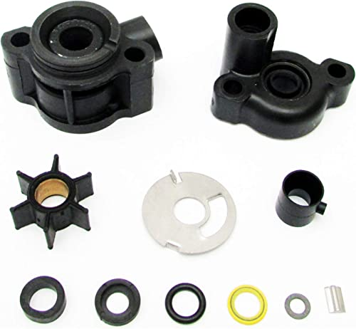 2021 Replace Mercury Mariner sale Force Water Pump Kit 46-70941A3 3.9 4 4.5 lowest 6 7.5 9.8 HP 1975-1986 Impeller ID .456 outlet sale