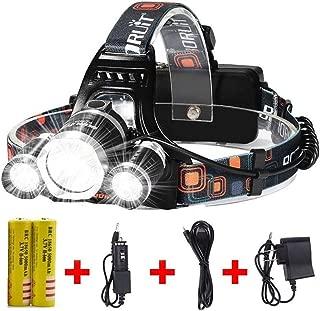 Newest Headlamp Flashlight 10000 Lumen,Best IMPROVED LED...