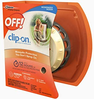 OFF! Clip On Mosquito Repellent Fan Unit 1 ea ( Pack of 10 )