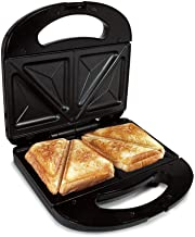 Sandwichera Electrica Grill para 2 Sandwiches Antiadherente