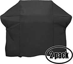 2 Pack Gas Grill Cover Heavy Duty Waterproof Replacement for Weber Summit 650 Ng,7471001,7109,7371001,7470001,7370001,7420001,7320001,7321001, 1750001 - 74.8 inch L x 26.8 inch W x 47 inch H