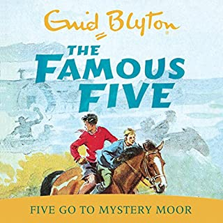 Famous Five: Five Go To Mystery Moor     Book 13              By:                                                                                                                                 Enid Blyton                               Narrated by:                                                                                                                                 Jan Francis                      Length: 4 hrs and 28 mins     64 ratings     Overall 4.6