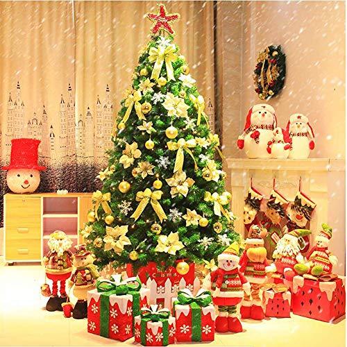 Pino de Navidad desmontable de PVC de 7.8 pies, árbol de abeto...