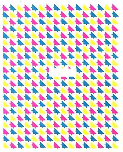 online-hut One-Stroke-Sticker Neon, Dreieck