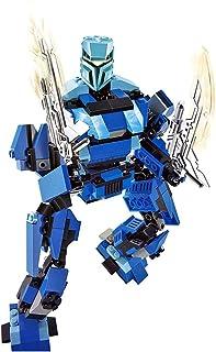 """لعبة مجموعة بناء الرجل الالي التيميت روبوت """"بوسيدون"""" M38-B0215 من سلوبن (274 قطعة)"""
